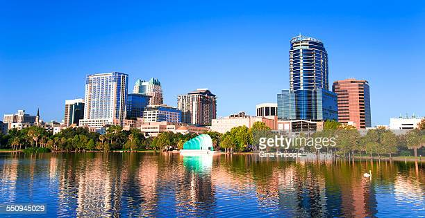 Downtown Orlando view, Florida