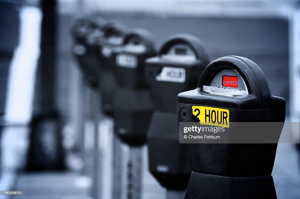 Downtown Parking Meters