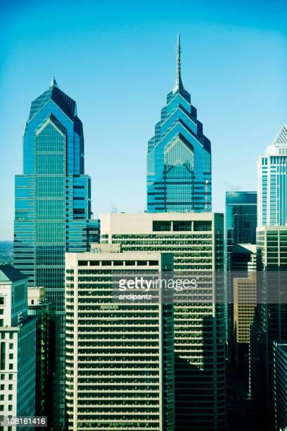 Downtown Philidelphia City Skyline