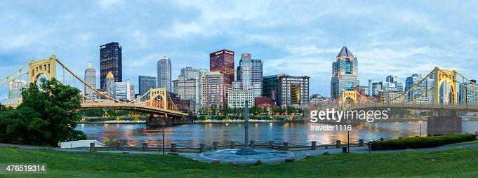 Downtown Pittsburgh, Pennsylvania