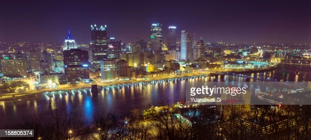 Downtown Pittsburgh : Stock Photo