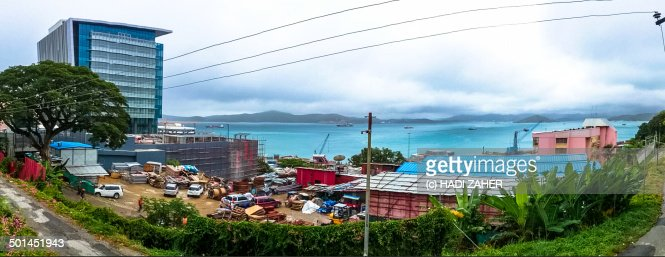 Downtown Port Moresby
