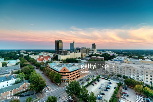 Downtown Raleigh Twilight, North Carolina