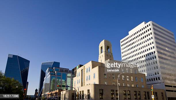 Centre-ville de Regina, du Saskatchewan