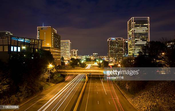 Downtown Richmond, Virginia At Night