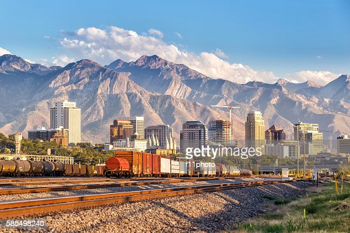 Downtown Salt Lake City, Utah : Stock Photo