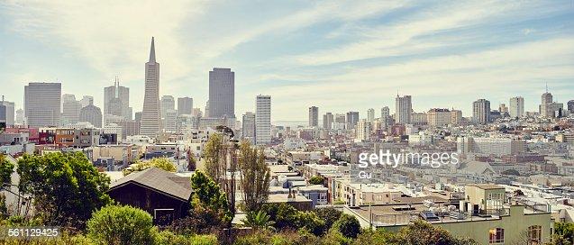 Downtown San Francisco, California, USA