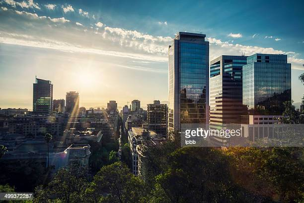 Downtown Santiago