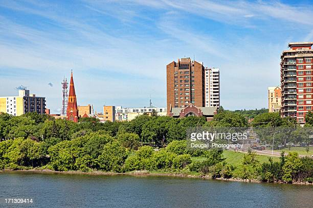 Downtown Saskatoon in Summer