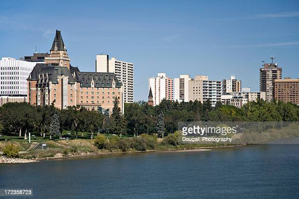Downtown Saskatoon with Bessborough Hotel