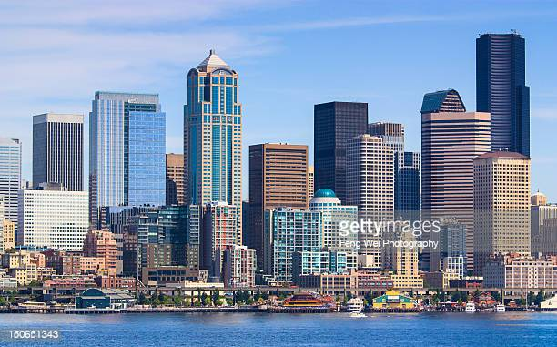 Downtown Seattle city skyline