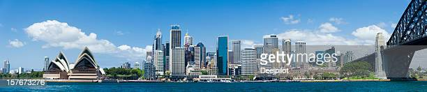 Downtown Sydney City Skyline in Australia