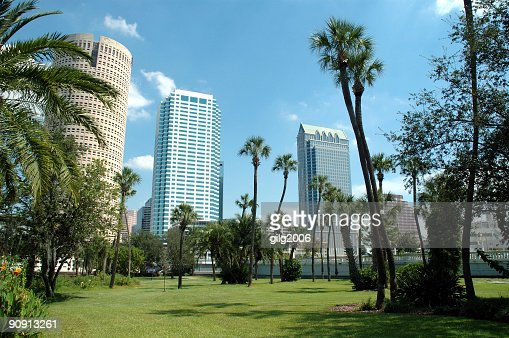 Downtown Tampa - From Plant Park