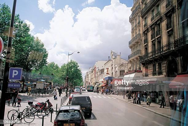 downtown, travel destination, europe, urban, structures, dwelling, sidewalk