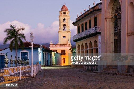 Downtown Trinidad at dawn