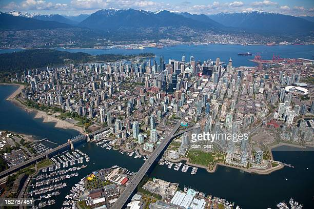 Downtown Vancouver Aerial View
