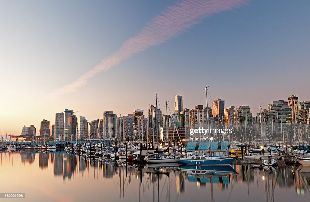 Downtown Vancouver from Coal Harbour