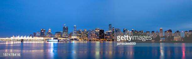 Downtown Vancouver Skyline evening