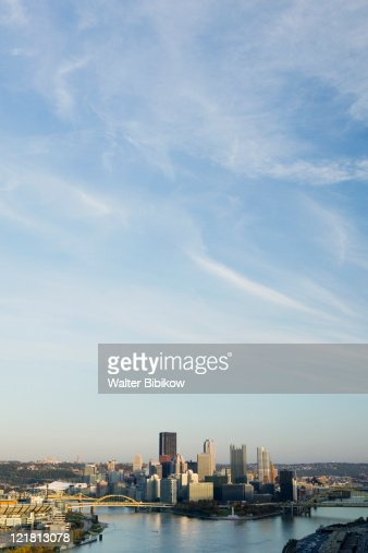 Downtown view from West End overlook  : Stock Photo