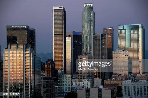 Downtownn Los Amgeles : Stock Photo
