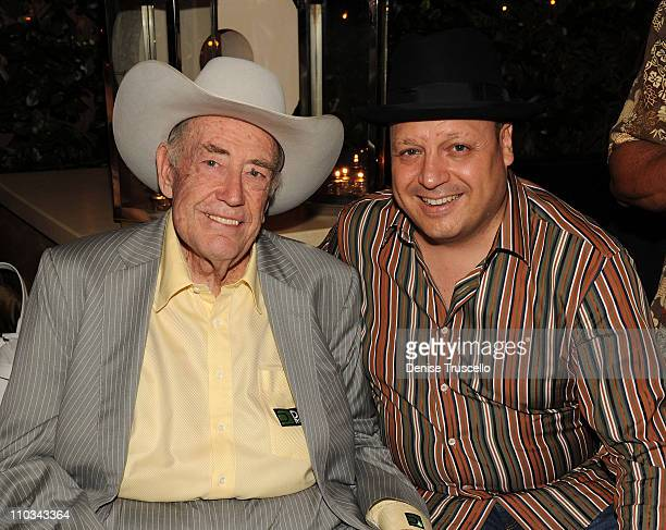 Doyle Brunson and Jeff Lisandro attend Blush Nightclub at The Wynn Hotel And Casino Resort on July 2 2009 in Las Vegas Nevada