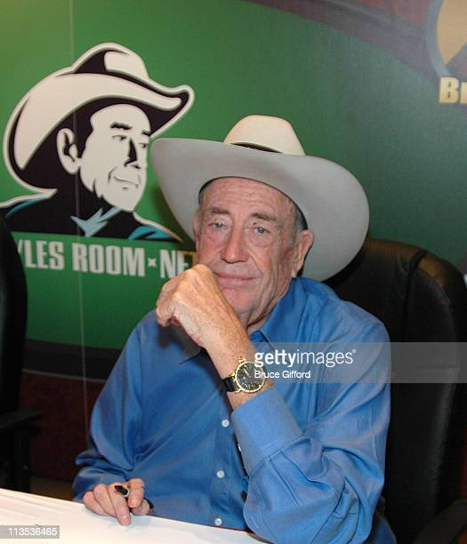 Doyle Brunson during The Official Party of the World Series of Poker July 28 2006 at The Rio Hotel and Casino at the Voo Doo Lounge in Las Vegas...