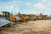 construction machinery park