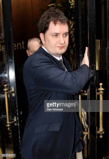Dr Adam Osborne brother of shadow chancellor George Osborne leaves Liberty House on February 24 2010 in London England Dr Osborne is appearing in...
