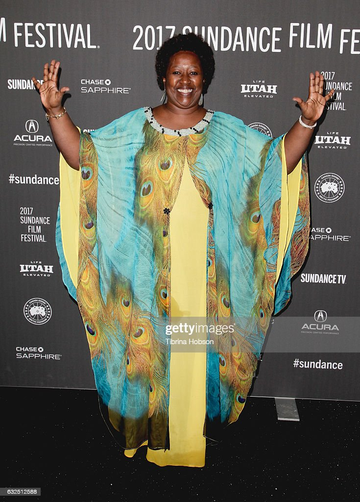 Dr. Agnes Bingawaho attends the 'Bending The Arc' Premiere at Library Center Theater on January 23, 2017 in Park City, Utah.