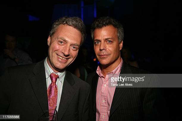 Dr Alex Eingorn and Dr Juan Carlos Izquierdo during Hamptons and Gotham Summer Kick Off Party May 23 2007 at The Summer Pavilion in New York City New...