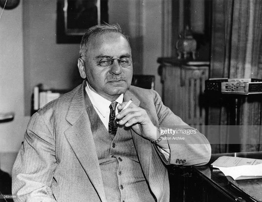 Dr Alfred Adler (1870-1937), Austrian physician and psychiatrist.