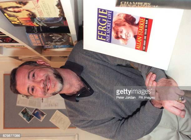 Dr Allan Starkie who today signed a publication contract for his book entitled 'Fergie Her Secret Life' after the Duchess of York dropped legal...