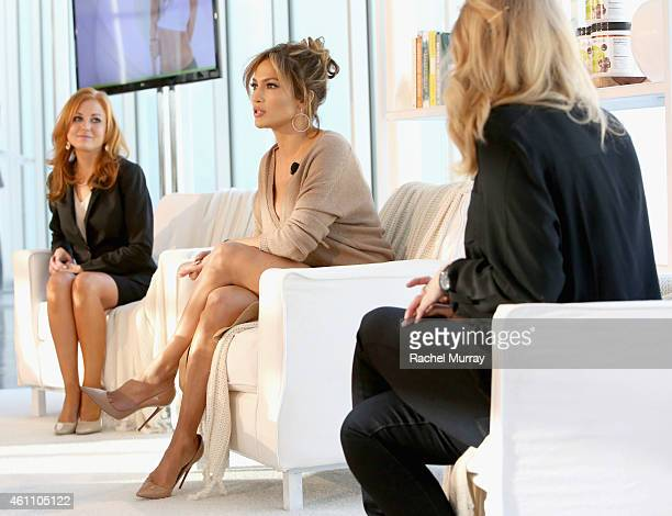 Dr Amy Heaton PhD Chief Science Officer BodyLab Jennifer Lopez founder of the BodyLab movement and Chantelle Daines Corporate Communications BodyLab...
