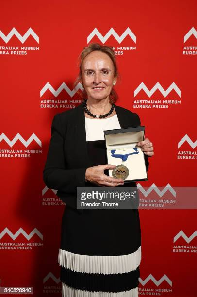 Dr Anne Hoggett AM of the Lizard Island Research Station Australian Museum is presented with the 2017 Australian Museum Research Institute Medal...