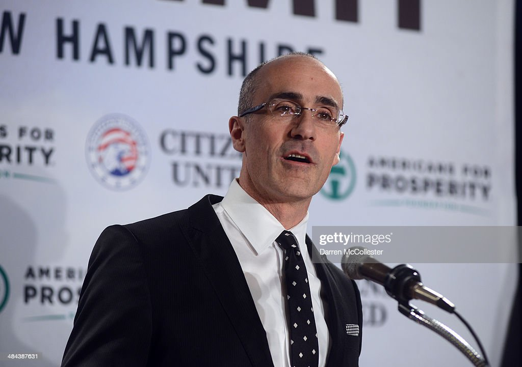 Dr. Arthur Brooks, President of the American Enterprise Institute, speaks at the Freedom Summit at The Executive Court Banquet Facility April 12, 2014 in Manchester, New Hampshire. The Freedom Summit held its inaugural event where national conservative leaders bring together grassroots activists on the eve of tax day. Photo by Darren McCollester/Getty Images)