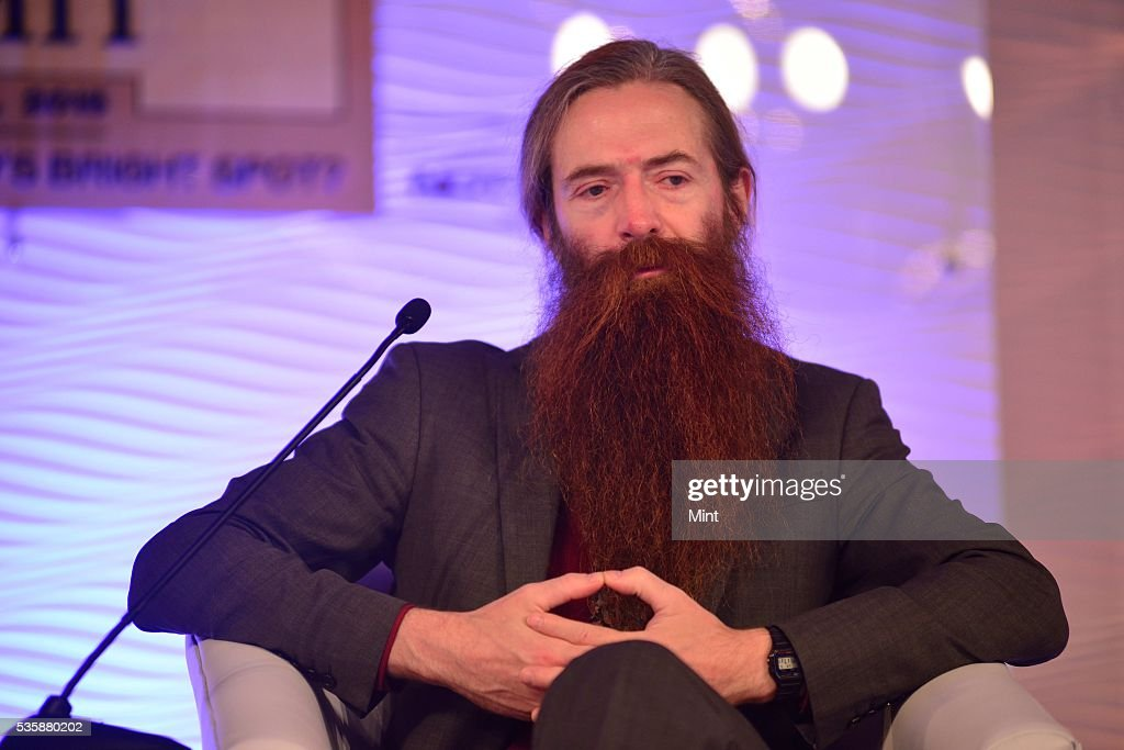Dr. Aubrey De Grey, biomedical gerontologist based in Cambridge, speaking at HT Leadership Summit 2015 on December 5, 2015 in New Delhi, India.