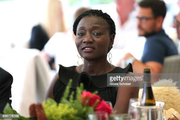Dr Auma Obama sister of Barack Obama during the 2nd I'm Living Charity Golf Cup at Golfclub Beuerberg on June 16 2017 in Penzberg Germany The...