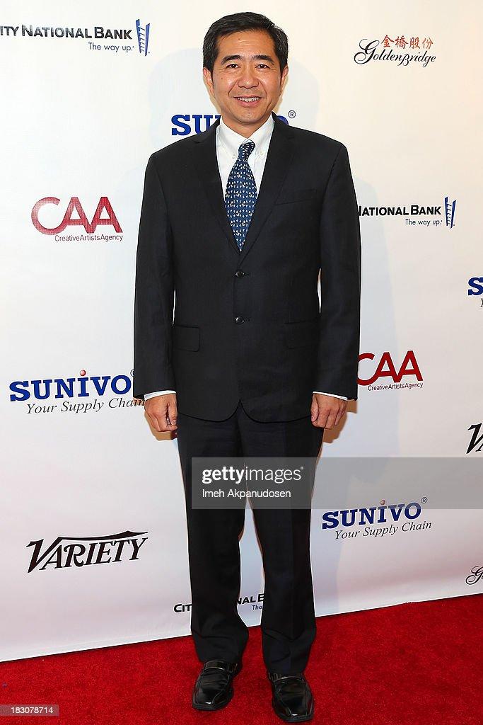 Dr. Baizhu Chen attends Sunivo's 1st Annual CHINA NOW Summit at the Hyatt Regency Century Plaza on October 3, 2013 in Century City, California.