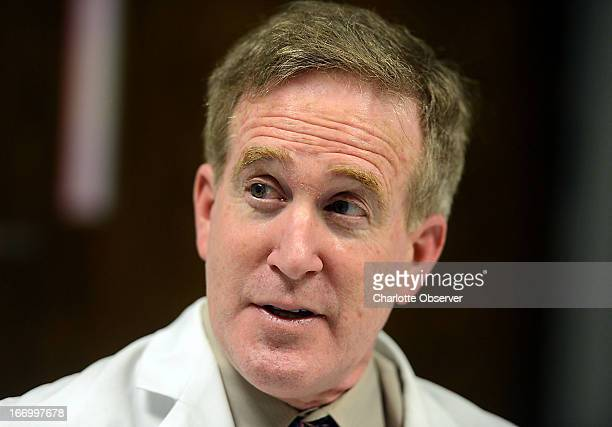 Dr Barry Schneider a gastroenterologist at Carolinas Medical CenterUniversity pictured February 8 got approval from a hospital committee before...