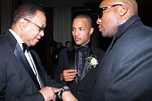 Dr Ben Chavis TI and Young Jeezy attend the Hip Hop Summit Action Network Inaugural Ball at the Harman Center for the Arts on January 19 2009 in...