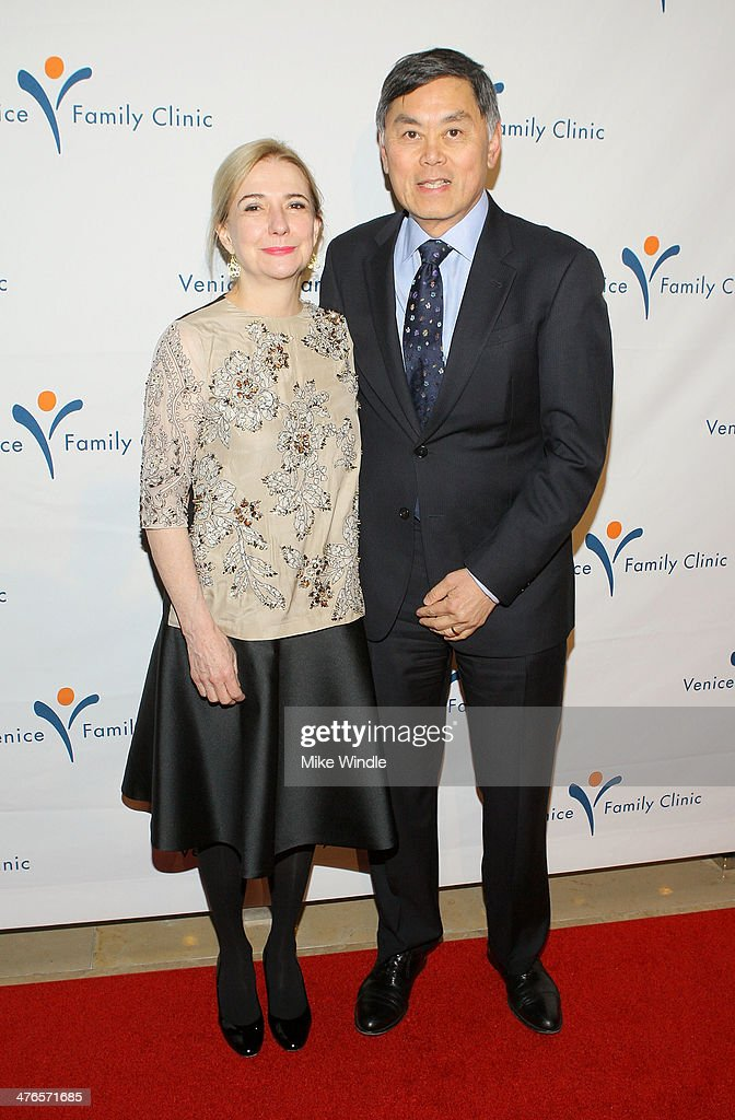 Dr. Ben Chu (R) attends the Venice Family Clinic's 32nd Annual Silver Circle Gala held at The Beverly Hilton Hotel on March 3, 2014 in Beverly Hills, California.