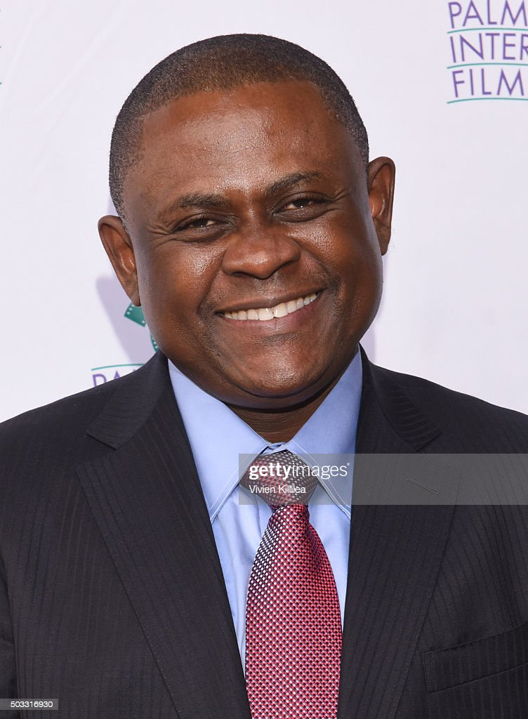 Dr. Bennet Omalu attends a screening of 'Concussion' at the 27th Annual Palm Springs International Film Festival on January 3, 2016 in Palm Springs, California.