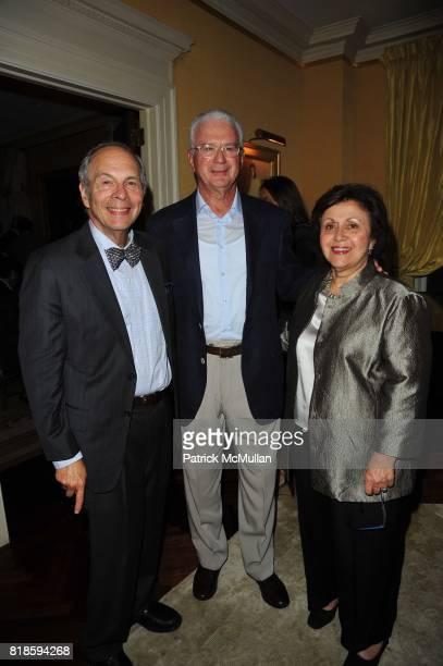 Dr Bennett Shaywitz Howard Katz and Dr Sally Shaywitz attend Dinner party to celebrate The Child Mind Institute's 2010 Adam Jeffrey Katz Memorial...
