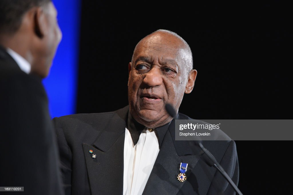 Dr. <a gi-track='captionPersonalityLinkClicked' href=/galleries/search?phrase=Bill+Cosby&family=editorial&specificpeople=206281 ng-click='$event.stopPropagation()'>Bill Cosby</a> speaks onstage at the The Jackie Robinson Foundation Annual Awards' Dinner at the Waldorf Astoria Hotel on March 4, 2013 in New York City.