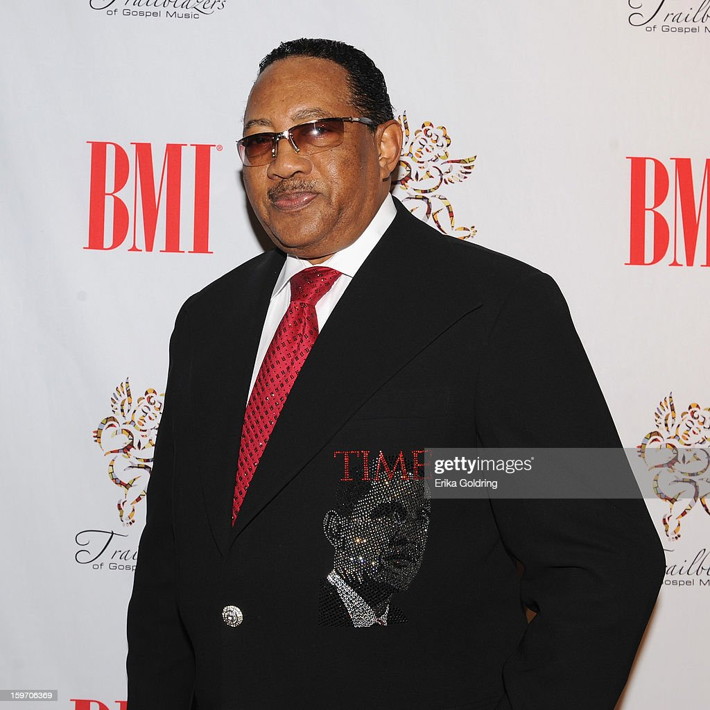 <a gi-track='captionPersonalityLinkClicked' href=/galleries/search?phrase=Dr.+Bobby+Jones&family=editorial&specificpeople=4115638 ng-click='$event.stopPropagation()'>Dr. Bobby Jones</a> attends the 14th annual BMI Trailblazers of Gospel Music Awards at Rocketown on January 18, 2013 in Nashville, Tennessee.