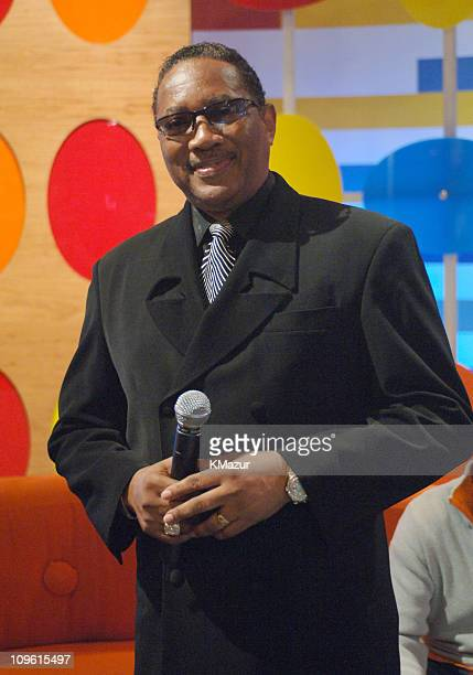 Dr Bobby Jones during 'SOS' The BET Telethon Relief Show at CBS Studios in New York City New York United States