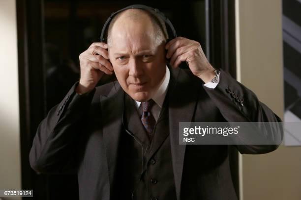 THE BLACKLIST 'Dr Bogan Krilov ' Episode 419 Pictured James Spader as Raymond 'Red' Reddington