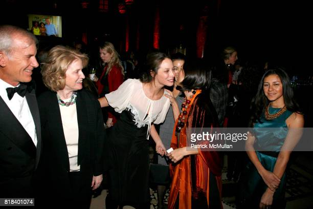 Dr Brian Brink Adrienne Germaine Christy Turlington Veronique Pittman and Marisa VianaAitchison attend INTERNATIONAL WOMEN'S HEALTH COALITION Annual...