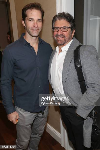 Dr Brian Kantor and Dr Marc Lowenberg attend Dr Andrew Jacono's Park Avenue Aesthetic Surgery Center Unveiling on November 9 2017 in New York City