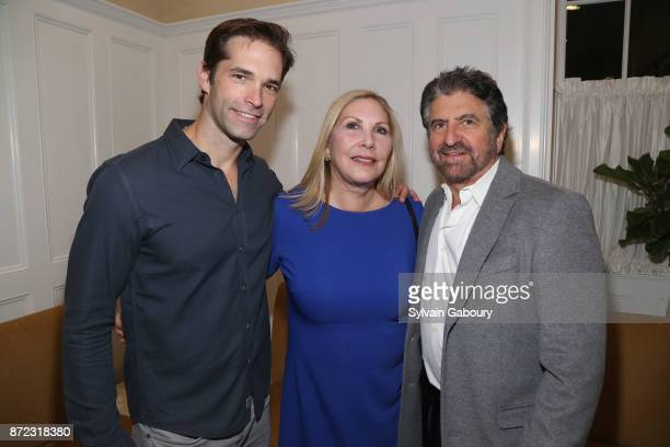 Dr Brian Kantor Wendy Lewis and Dr Marc Lowenberg attend Dr Andrew Jacono's Park Avenue Aesthetic Surgery Center Unveiling on November 9 2017 in New...